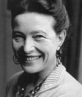 Simone-Ernestine-Lucie-Marie Bertrand de Beauvoir, often shortened to Simone de Beauvoir ..was a French existentialist philosopher, public intellectual, and social theorist. She wrote novels, essays, biographies, an autobiography in several volumes, and monographs on philosophy, politics, and social issues.