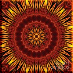 Mandala Of Surya The Sun God Spiritual Art by Giada Rossi Fine Art Prints and Posters for Sale Mandalas Painting, Mandala Art, Zentangle, Artwork Prints, Fine Art Prints, Soul Art, Sale Poster, Fine Art Photography, Amazing Art