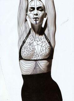 ___follow street-goth for more monochrome street fashion