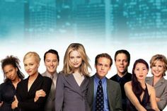 Ally McBeal.  One of my favorite shows ever... because yes, there is always a song in my head. Ouga Chaka ouga!