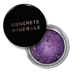 $10.95 Concrete Minerals Unity Bright Purple Mineral Eyeshadow Makeup Cruelty Free