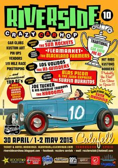10th Riverside Crazy Car hop!! 30 April / 1-2 May 2015. Calafell. Spain.