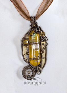 I love the wire wrapped jewelry.