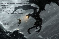 Paarthurnax Quotes Skyrim: alduin by onlysekhmet