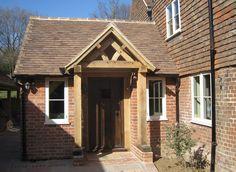 Oak Frame Extension – Beautiful entrance hall