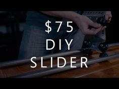 How do you build a quality DIY camera slider on the cheap? Who better to ask than the founder of a slider company? In the video above, Rhino Camera Gear fo