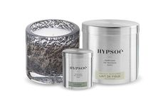 Hypsoé scented candles in a high quality big metal tin. 600gr - French manufacturing for the fragrance and the wax compliant regulations - 6 scents.