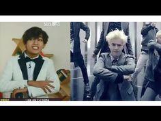 BTS V (TAEHYUNG) dance EXO, Orange Caramel, APINK, T-ara and more - YouTube