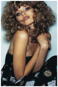You are interested in Abbey Lee Kershaw? Fashion ads, pictures, prints and advertising with Abbey Lee Kershaw can be found here. Abbey Lee Kershaw, Long Curly Hair, Curly Girl, Curly Hair Styles, Curly Bangs, Studio 54 Fashion, Hair Today, Hair Inspiration, Fashion Inspiration