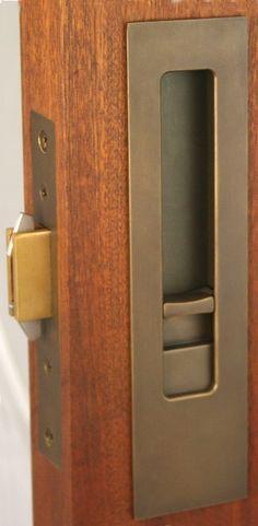 privacy pocket door locks - Google Search