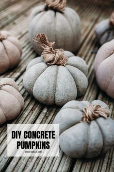23 Diy Concrete Projects: use concrete to amazing extents - 101 Recycled Crafts Concrete Cement, Concrete Garden, Concrete Design, Concrete Houses, Cement Planters, Concrete Crafts, Concrete Projects, Diy Projects, Fall Projects