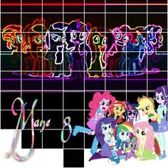 This is the Mane 8