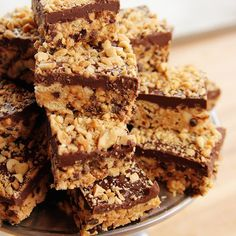 No-Bake Peanut Butter Bars/Pioneer Woman http://www.foodnetwork.com/recipes/ree-drummond/no-bake-peanut-butter-bars.html
