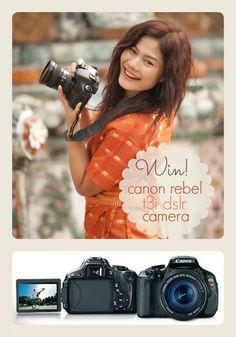 DSLR Camera Giveaway www.spaceshipsandlaserbeams.com