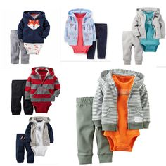 New  Carter Clothes Bodysuit Cotton Clothing Sets Newborn bebes  Set  girl Baby Party baby Girl Boys Fashion clothing Set