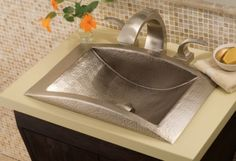 copper sink and fixture