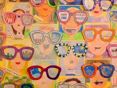 Kunst-Skaplig talt Back To School Art, Art School, Art Drawings For Kids, Drawing For Kids, Activities For Kids, Crafts For Kids, Arts And Crafts, 3rd Grade Art, Art Lessons Elementary