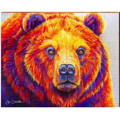 Canvas Artwork, Canvas Prints, Bear Art, Map Wall Art, Wildlife Art, Magazine Art, Wood Art, Photo Wall Art, Original Paintings