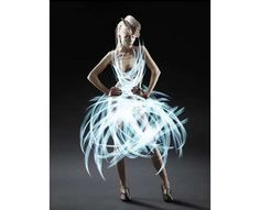 Light Graffiti Dress ~ I want this one!
