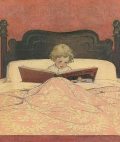 View The bed-time book by Jessie Willcox Smith on artnet. Browse upcoming and past auction lots by Jessie Willcox Smith. Reading Art, Reading In Bed, Children Reading, Bedtime Reading, Woman Reading, Reading Time, I Love Books, Good Books, Big Books