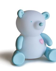 Giimmo Bear - Terry is cute, fun and portable, just charge up the light and off you go.  Once charged, this Giimmo night light will cycle through a range of colours for approx 6 - 8 hours before needing charging again. Tap on and off function makes it easy to use. $49.95