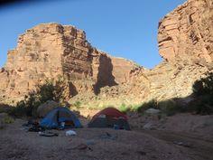 Waking up inside the Grand Canyon, Arizona