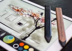 53 Design Launches New Pencil iPad Stylus - The 53 Design Pencil stylus takes the form a woodworkers pencil and is rectangular in shape and crafted from wood and is now available to purchase for $50 in a graphite finish and $60 in a wood finish. Inside the Pencil Stylus is a battier that charges off a USB port in just 90 minutes and provides a months worth of usage. | Geeky Gadgets