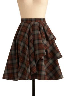 I already have a skirt that looks a whole lot like this. But I'd like this one too, please!