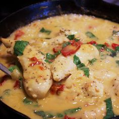 Menu Musings of a Modern American Mom: Sun Dried Tomato Chicken