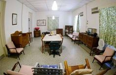 Lee Kuan Yew's living room, he was a frugal man.