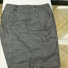 Grey BCX Skirt Never worn work skirt. BCX Skirts