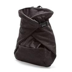 GEKREUZTER RUCKSACK - Handtaschen - Herren - Neue Kollektion   ZARA Deutschland - 199,00 EUR - 50 x 40 x 20 cm - 100% KUHLEDER / 100% BAUMWOLLE