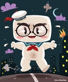Ghostbusters Marshmellow Man