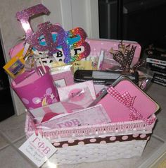 Gift basket for the lil