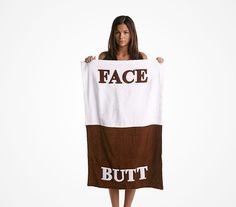 """We All Need That Towel """"FACE BUTT"""" ---- funny pictures hilarious jokes meme humor walmart fails.What if you have a buttface Just For Fun, Just In Case, Funny Gags, Hilarious Jokes, It's Funny, Face Towel, Gag Gifts, Looks Cool, My Guy"""