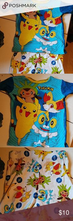a9b88ca346 Pokemon Pajamas Size 8 Boys. Worn and washed twice. Pokemon Pajamas Pajama  Sets