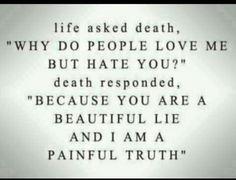 Life & death quote