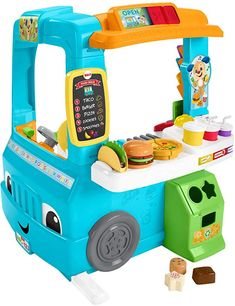 Fisher-Price Food Truck and Shop to Play and Ler .- Fisher-Price Imbisswagen und Laden zum Spielen und Lernen … – T O Y S … Fisher-Price Food Truck and Shop to Play and Learn … – T O Y S – # - Food Trucks, Kids Toys For Boys, Cool Kids Toys, Cool Toddler Toys, Best Toys For Boys, Toys For Babies, Toys For Toddlers, Toys For Little Kids, Best Baby Toys
