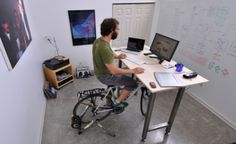 Kickstand: a mesa de escritório desenvolvida para ciclistas