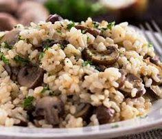 7# Heavenly Garlic Mushroom Risotto