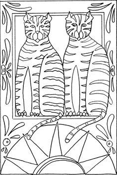 Rug hooking/ Punch aRt patTerns - MShaw-FolkArt.com<br />