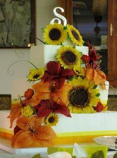 Confessions of a DIY-aholic: Gumpaste sunflower tutorial