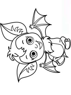 Free printable Vampirina coloring pages for Kids Fairy Coloring Pages, Halloween Coloring Pages, Coloring Pages For Girls, Coloring Books, Halloween Rocks, Cute Halloween, Animal Drawings, Free Printables, Crafts For Kids