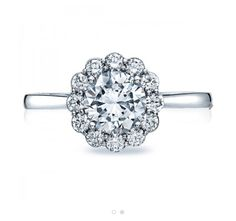 Genesis diamonds- Tacori full bloom engagement ring