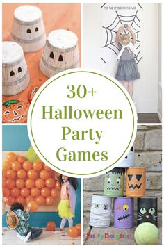 Are you in charge of Halloween Party Games for your child's classroom party? We have got you covered with these Halloween Party Games for Kids!