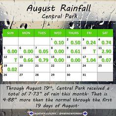 august rain Top News, Central Park, Rain, Rain Fall, Waterfall