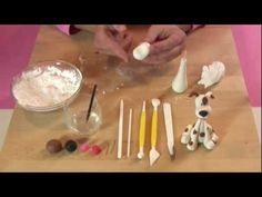 """""""Le Torte di Fiorella"""" - Tutorial Cagnolino presentato a """"Casa Alice"""" il 6 Ottobre 2011"""