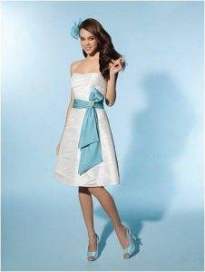Nowa, Unikalna, Amerykańska Suknia Ślubna Firmy Alfred Angelo, Styl: 2076, Rozmiar 8 (USA), Kolor: Diamond White (Biały Diament)/Spice (Czerwono-Beżowy)