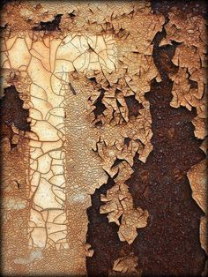 Best Tips for Painting with Textured Paint Arte Yin Yang, Art Grunge, Art Texture, Peeling Paint, Rusty Metal, Foto Art, Art Abstrait, Rust Color, Natural Texture