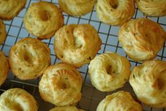 Christmas appetizer ~ Herb-Gruyere Thumbprints